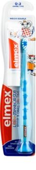 Elmex Caries Protection Kids παιδική οδοντόβουρτσα μαλακή + μινι οδοντόκρεμα