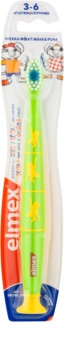 Elmex Kids 3-6 Years zubní kartáček s přísavkou pro děti