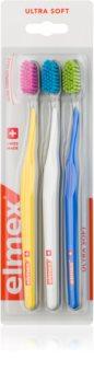 Elmex Swiss Made zubné kefky 3 ks ultra soft