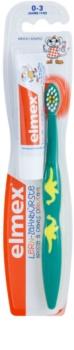 Elmex Caries Protection зубна щітка  для дітей soft + міні паста
