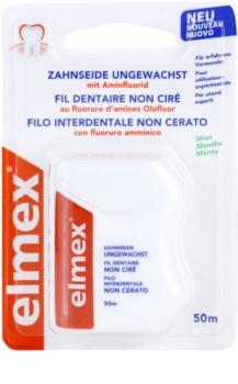 Elmex Caries Protection Unwaxed Dental Floss