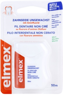 Elmex Caries Protection Unwaxed Dental Floss