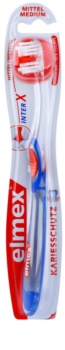 Elmex Caries Protection interX brosse à dents medium