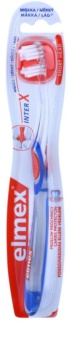 Elmex Caries Protection interX brosse à dents manche court soft