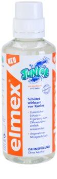 Elmex Junior 6-12 Years enjuague bucal para niños