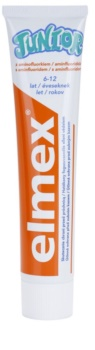 Elmex Junior 6-12 Years pasta de dentes para crianças