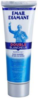 Email Diamant Double Blancheur pasta de dientes blanqueadora para una sonrisa radiante