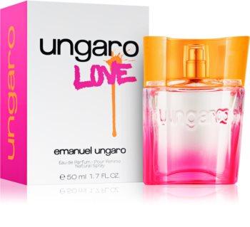 Emanuel Ungaro Ungaro Love eau de parfum pour femme 50 ml