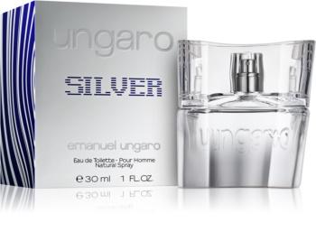 Emanuel Ungaro Ungaro Silver toaletná voda pre mužov 30 ml