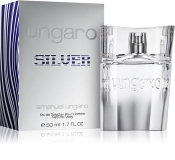 Emanuel Ungaro Ungaro Silver Eau de Toilette for Men 50 ml
