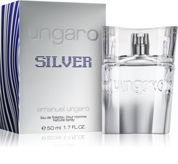 Emanuel Ungaro Ungaro Silver toaletní voda pro muže 50 ml