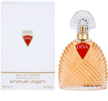 Emanuel Ungaro Diva Eau de Toilette for Women 100 ml