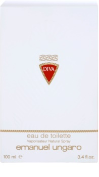 Emanuel Ungaro Diva Eau de Toilette voor Vrouwen  100 ml