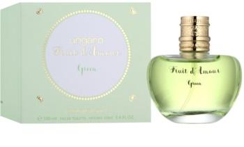 Emanuel Ungaro Fruit d'Amour Green Eau de Toilette voor Vrouwen  100 ml