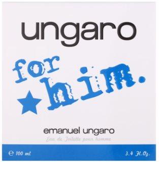 Emanuel Ungaro Ungaro for Him eau de toilette pentru barbati 100 ml