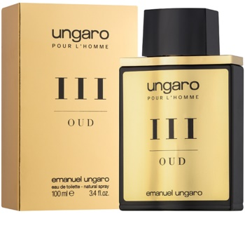 Emanuel Ungaro L'Homme III Oud Eau de Toilette for Men 100 ml