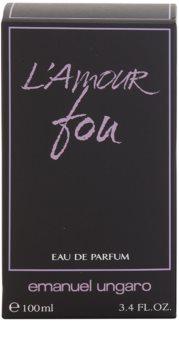 Emanuel Ungaro L'Amour Fou Eau de Parfum für Damen 100 ml