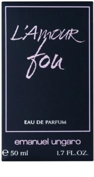 Emanuel Ungaro L'Amour Fou Eau de Parfum für Damen 50 ml