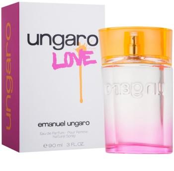 Emanuel Ungaro Ungaro Love Eau de Parfum für Damen 90 ml