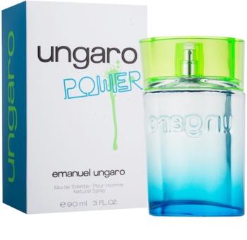 Emanuel Ungaro Power Eau de Toilette voor Mannen 90 ml