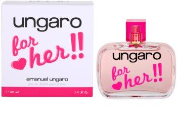 Emanuel Ungaro Ungaro for Her eau de toilette pour femme 100 ml