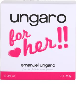Emanuel Ungaro Ungaro for Her Eau de Toilette for Women 100 ml