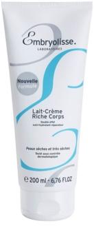 Embryolisse Nourishing Cares vyživující hydratační tělové mléko pro suchou až velmi suchou pokožku