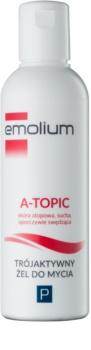 Emolium Wash & Bath P jemný umývací gél s trojitým účinkom