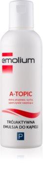Emolium Body Care A- topic emulsione per il bagno effetto triplo