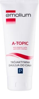 Emolium Body Care A- topic emulsja do ciała o potrójnym działaniu do skóry suchej i atopowej
