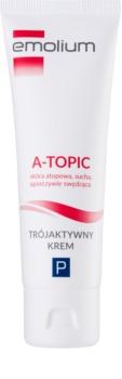Emolium Skin Care A-topic krém s trojitým účinkom pre suchú až atopickú pleť