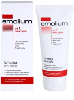 Emolium Body Care emulsión corporal para pieles secas y sensibles