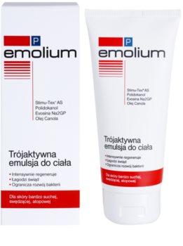 Emolium Body Care P test emulzió hármas hatással