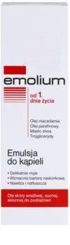 Emolium Wash & Bath emulsie de baie pentru piele uscata si sensibila