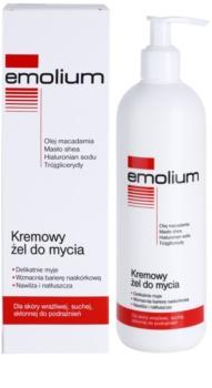 Emolium Wash & Bath krémes tusoló gél száraz és érzékeny bőrre