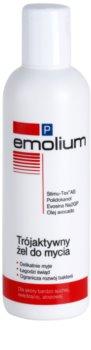 Emolium Wash & Bath P gel de duche com tripla ação