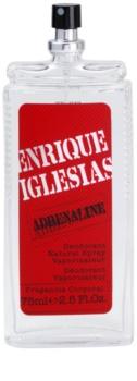 Enrique Iglesias Adrenaline déodorant avec vaporisateur pour homme 75 ml
