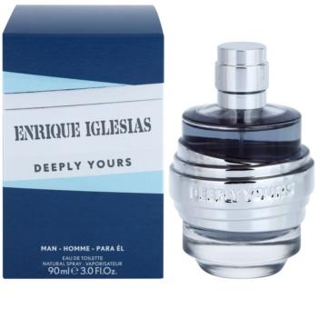Enrique Iglesias Deeply Yours toaletná voda pre mužov 90 ml