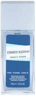 Enrique Iglesias Deeply Yours дезодорант з пульверизатором для чоловіків 75 мл
