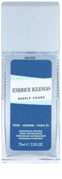 Enrique Iglesias Deeply Yours desodorizante vaporizador para homens 75 ml