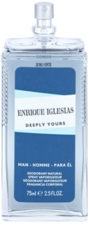 Enrique Iglesias Deeply Yours deodorant s rozprašovačem pro muže 75 ml