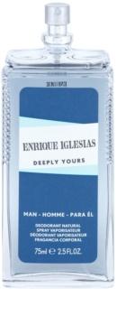 Enrique Iglesias Deeply Yours spray dezodor férfiaknak 75 ml