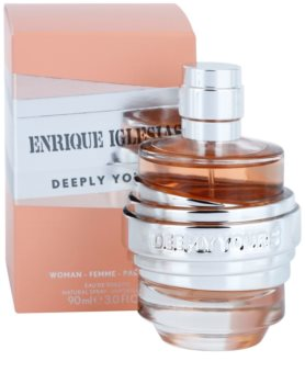 Enrique Iglesias Deeply Yours Eau de Toilette für Damen 90 ml