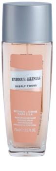 Enrique Iglesias Deeply Yours desodorizante vaporizador para mulheres 75 ml