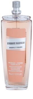 Enrique Iglesias Deeply Yours Perfume Deodorant for Women 75 ml