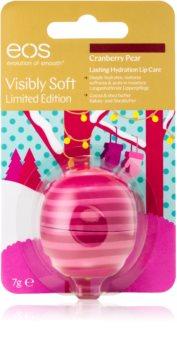 EOS Visibly Soft Cranberry Pear vlažilni balzam za ustnice