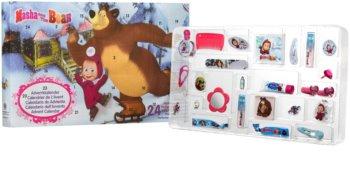 EP Line Masha and The Bear Χριστουγεννιάτικο ημερολόγιο για παιδιά