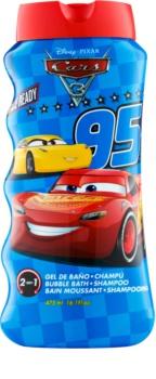 EP Line Cars 3 bagnoschiuma e shampoo 2 in 1 per bambini