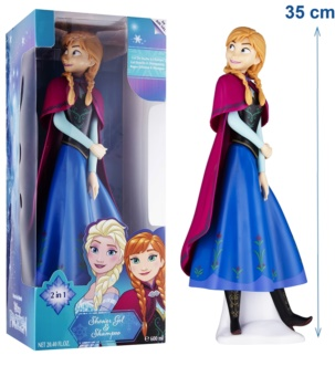 EP Line Frozen 3D Anna 2 in 1 gel de dus si sampon