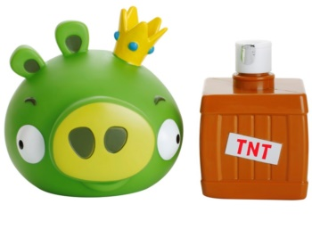 EP Line Angry Birds 3D tusfürdő gél és sampon 2 in 1 gyermekeknek
